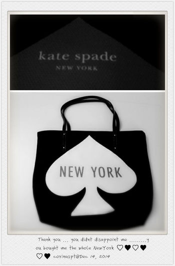 Kate Spade Taking Photos Christmas Gift From New York Blackandwhite