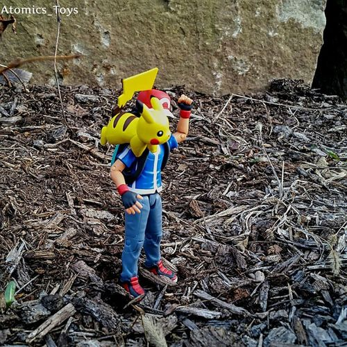 Just a boy and his Pikachu Toys Toyphotography Figurephotography Toyuniverse Toys4life Toyfriends Toyrevolution Toyunion Toyslagram Toygroup_alliance Toyfusion