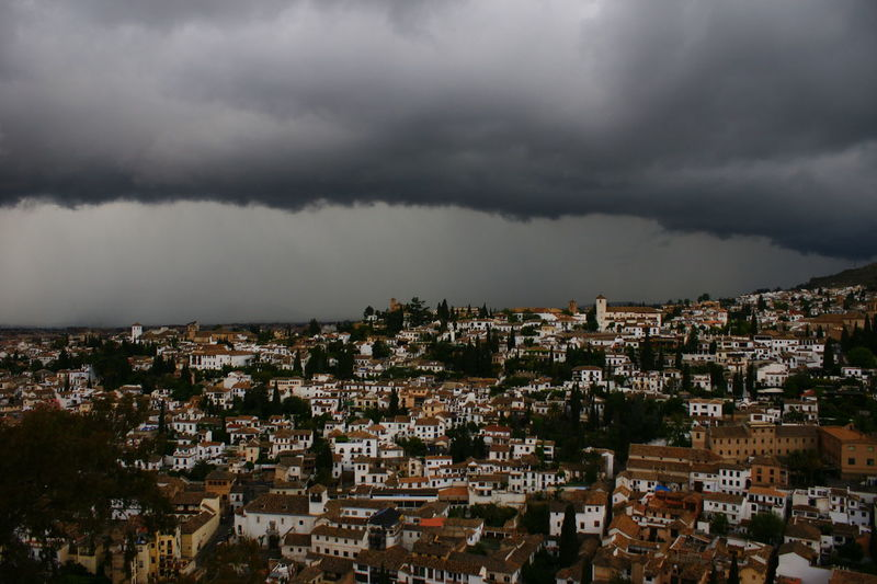 Andalucía City Cityscapes Clouds Clouds And Sky Cloudscape España Granada Grey Houses SPAIN Storm Storm Cloud Storm Clouds Stormy Weather Thunder Thunderstorm Nature Power In Nature We Are Small Spring Spring Storms Urban Spring Fever