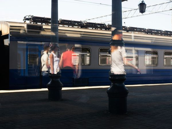 The Street Photographer - 2014 EyeEm Awards Hologram Railway Moscow