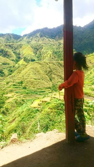 Men Full Length Sunlight One Person Mountain Only Men Nature Tree One Man Only Adults Only Adult Cloud - Sky Outdoors Sky Day Agriculture People Young Adult Philippines Kalinga Tradional Tattoo National Artist Apo Whang Od Locals EyeEmNewHere