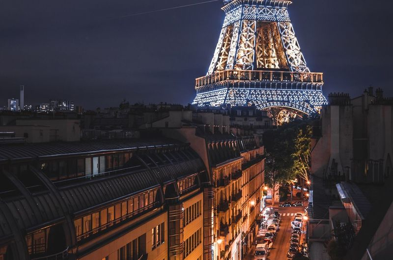 Massive Light France Photographer Darkness And Light Photography Photooftheday Exploring Explore Outdoors No People City Night Exploration Building Exterior Architecture Paris Paris, France  Citylights Eiffel Tower Light And Shadow Roof Rooftop Nikonphotography Nikon Cityscape