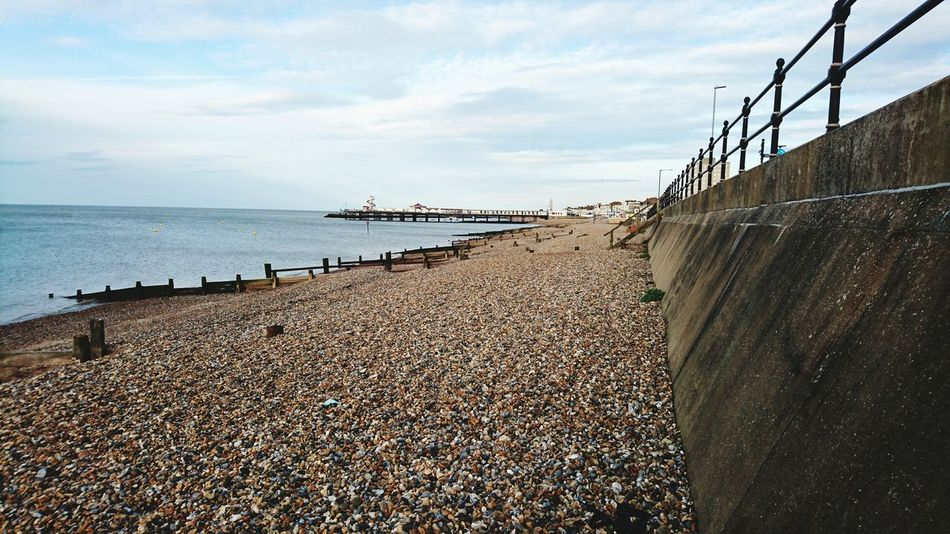 Hanging Out Herne Bay HerneBay Kent Pebble Beach Kent Beach Herne Bay Beach Herne Bay Pier Sony Xperia Z5 Compact Seaside
