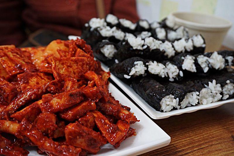 충무김밥 QX1 Food Porn Korean Food Better Together Gimbap