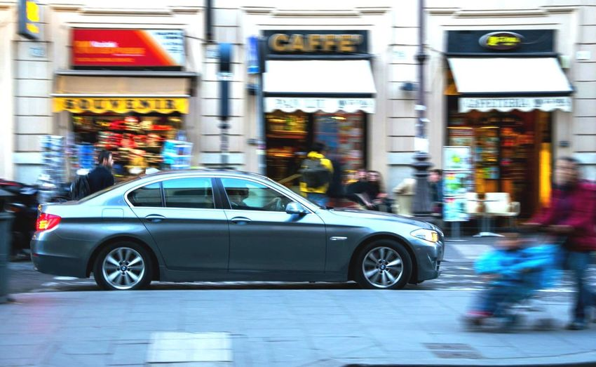 BMW 5 series in Rome streets... Bmw5series Bmw Bmwlovers Streetphotography Rome Termini Germancars