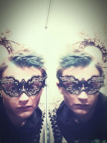 The masquerade mask