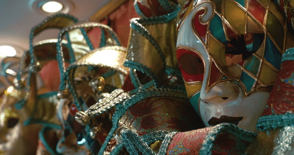 Close-up of decoration in traditional clothing