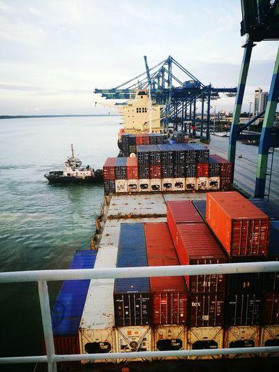Berthing ship First Eyeem Photo