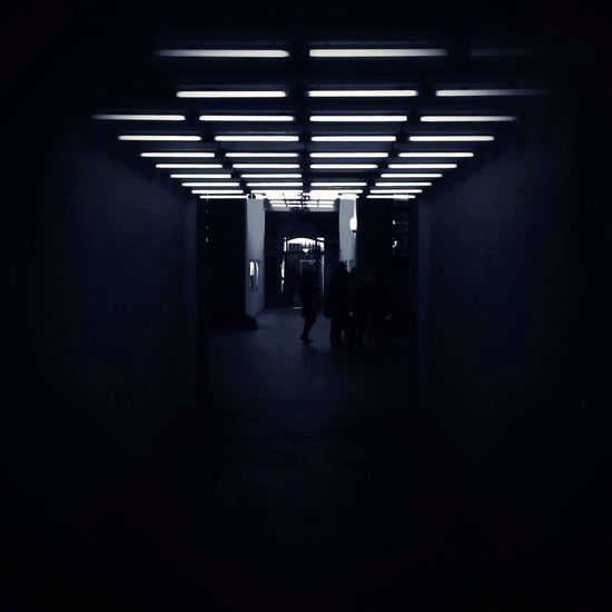 time tunnel AMPt - Street AMPt_community Black And White WeAreJuxt