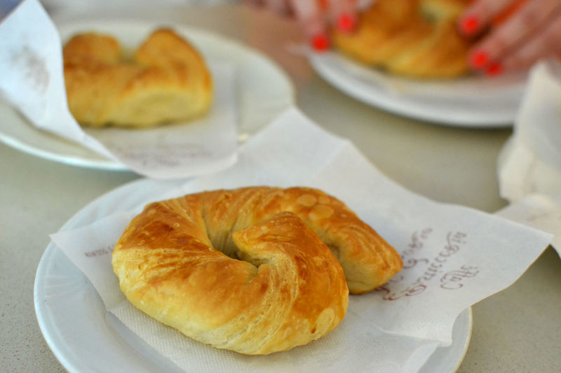 Ricciola Italian Breakfast Baked Baked Pastry Item Bread Breakfast Close-up Croissant Focus On Foreground Food Food And Drink Foodphotography Foodporn Freshness Indoors  Italian Food Meal Pastry Plate Ready-to-eat Snack Sweet Food Table Temptation