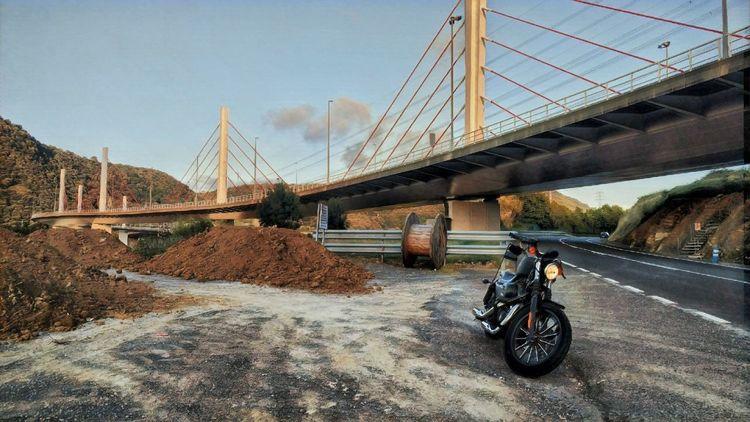 Harley Davidson Bizkaia Euskalherria Transportation Bridge Bridge - Man Made Structure Built Structure Mode Of Transportation Connection Architecture
