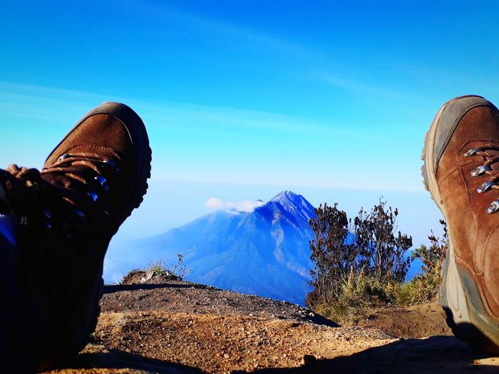 View of merapi mountain from top of merbabu. Adventure View Mountain EyeEmNewHere
