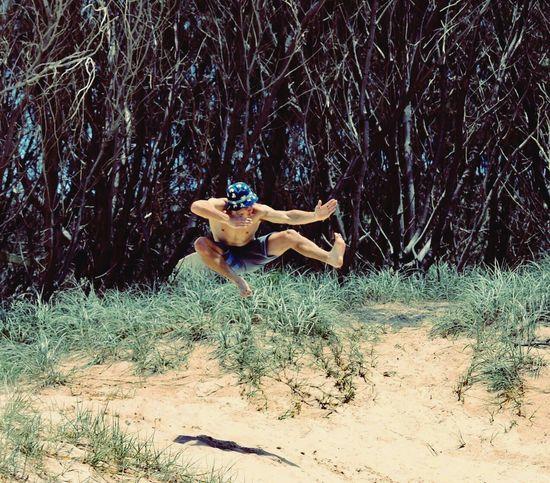 Stradbroke Island Kickboxing Sand Dune Air Beauty In Nature EyeEmNewHere