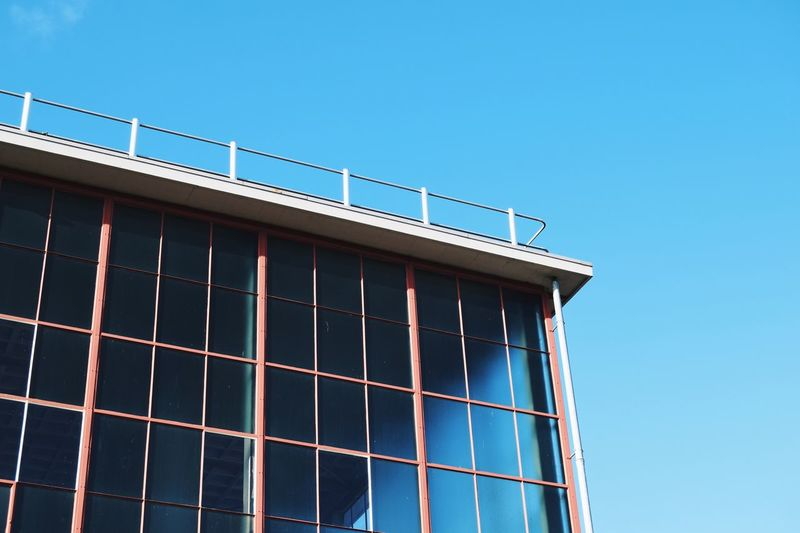 Copy Space Blue Clear Sky Built Structure Day Building Exterior No People Architecture Outdoors