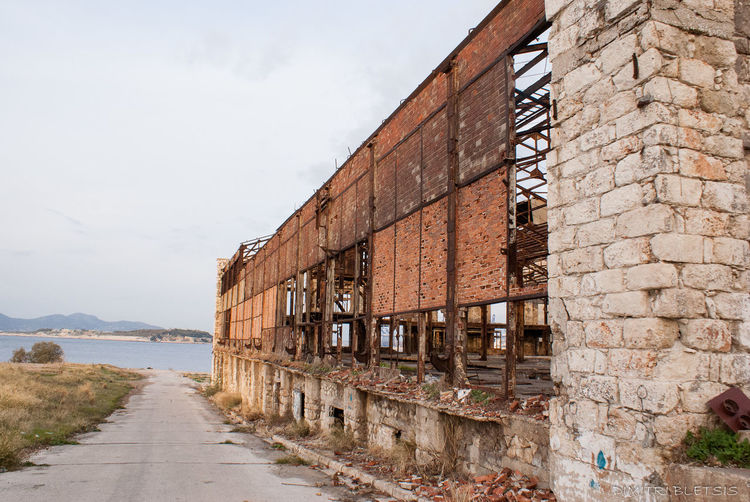 Architecture Deindustrialization Greece Historical Building Memories Old Buildings Old Industrial Architecture