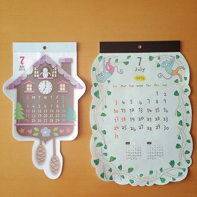 よろしくジュライ🎋 7月 July ジュライ カレンダー Calendar