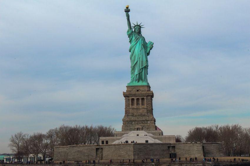 Statue of Liberty Ladyliberty Liberty Island Statue Of Liberty Travel New York City Newyork Newyorkcity NYC Manhattan New York NYC Photography