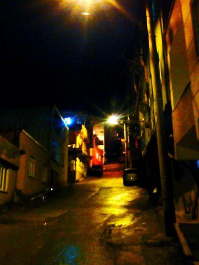 Karanlık bir akşamüstü Fidyekızık ...