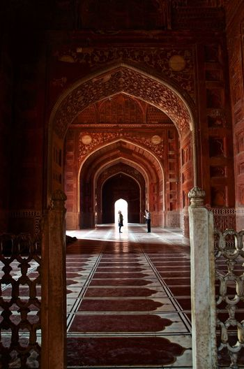 Perspective India Taj Mahal Archway Perspective Repeating Patterns Repetitive
