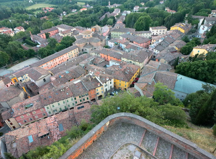 Aerial View Architecture Building Exterior Built Structure Cityscape Day High Angle View Landscape Nature No People Old Buildings Outdoors Romagna Rooftop Tourism Borghiditalia Borghipiúbelliditalia The Graphic City