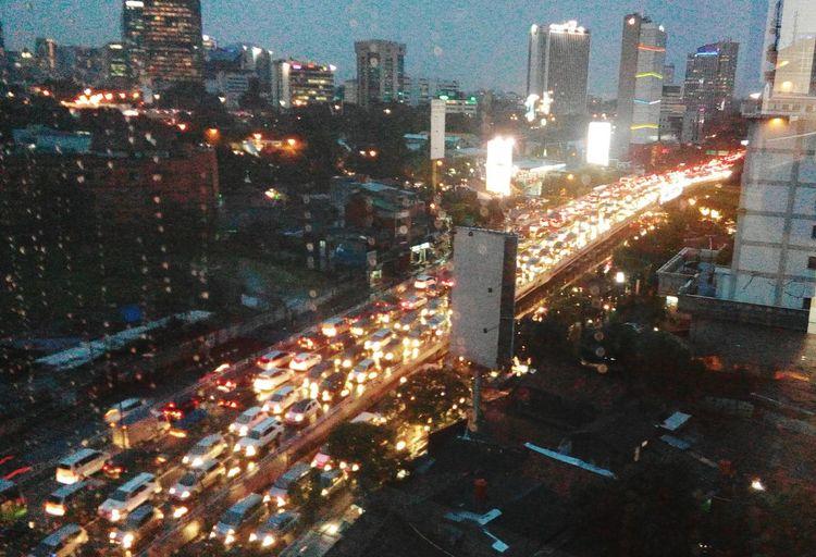 Kemacetan Sepulang Jam Kerja