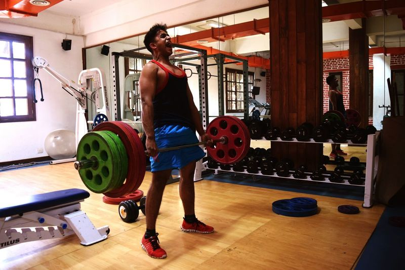 Body & Fitness Bodybuilding Handsome Intensity Strong Hot Working Out Muscular Deadlifts