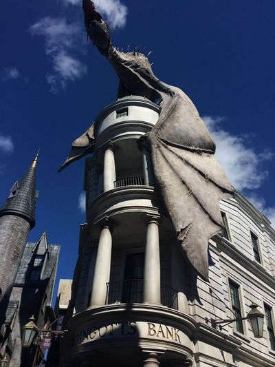 Been There. Gringotts Dragon