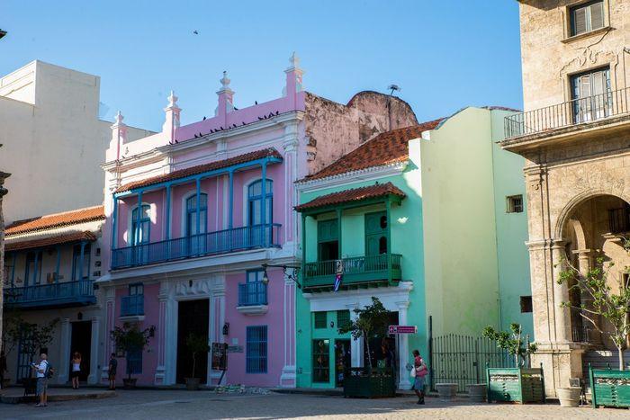 Architecture Balcony Building Exterior City Colorful Colorfull Houses Cuba Havana Havanna, Cuba Historical Building Old Town