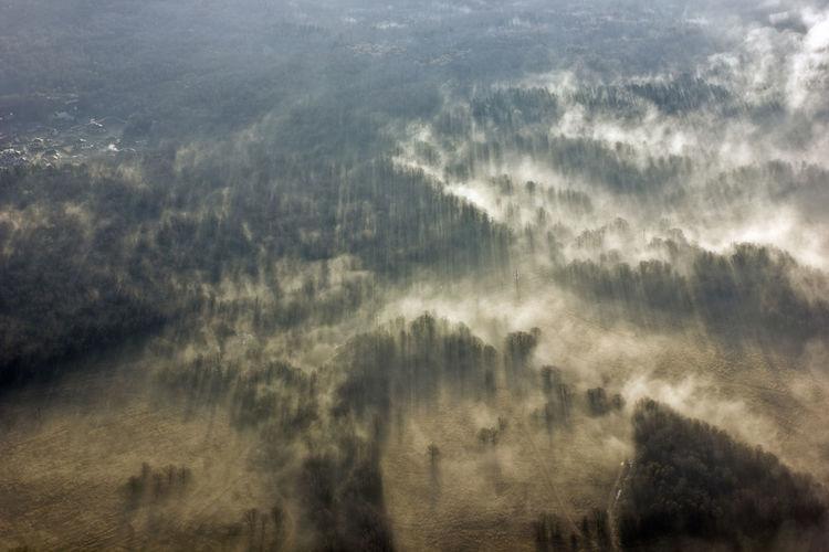 Full frame shot of cloudscape