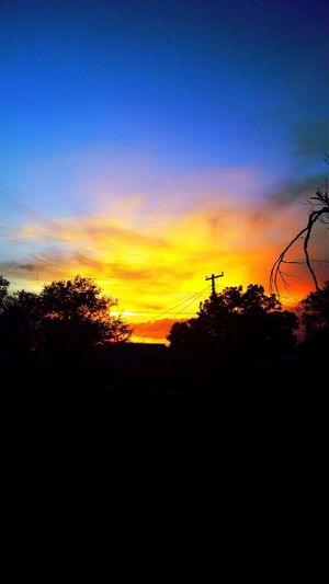 Only In Texas Texas Sky Sunset Amarillo On Fire Nature Lost In The Landscape