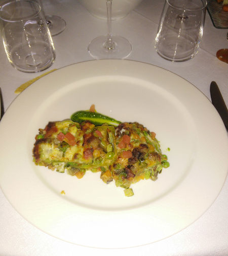 Lasagna Vegetables Lunchtime March 2016 Foodie Segrate