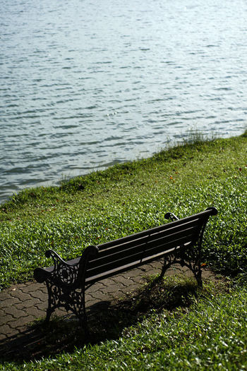 Bench at the Upper Seletar Reservoir Beauty In Nature Relaxing Check This Out Wonderful Eyeem Best Shots Eyeem Gallery Bench Bench And Beach Bench At Upper Seletar Reservoir Bench Seat Bench With A View Day Grass Growth Hot Day Nature No People Outdoors Park - Man Made Space Public Bench Public Transportation Relaxation Relaxation Area S Scenics Landscape Seat On Beach Sky Tranquil Scene Tranquility Upper Seletar Reservoir