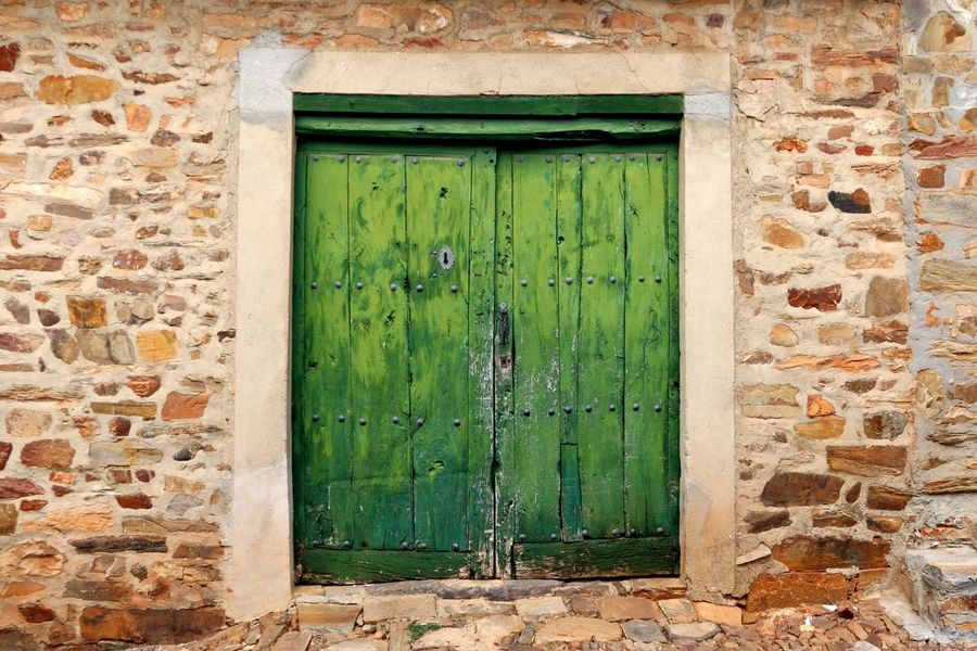 Exotic Destination Exotic Premium Collection Premium EyeEmNewHere Country House Countryhouse Countryside Village Life Village Town Rural Green Doors Green Door Door Closed Architecture Entrance Protection Safety Built Structure Green Color Building Exterior Hinge