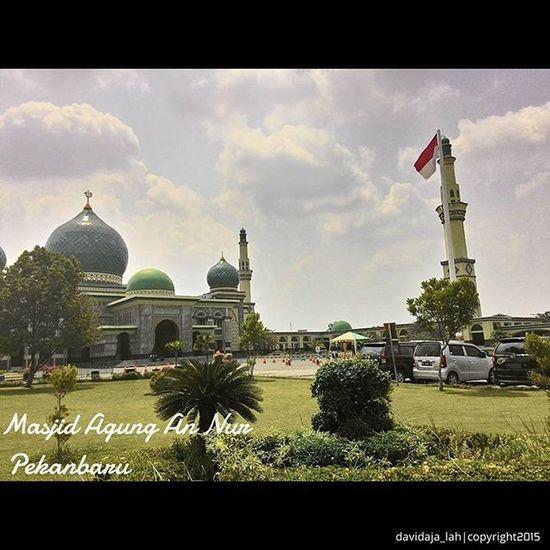 Taken by : [Zenfone5 ] . Zenfoneindonesia Zenfone_id Pekanbaru Masjid