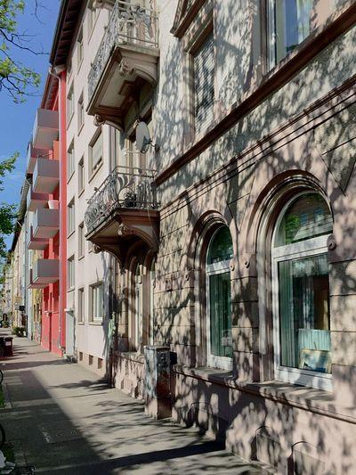 Stühlinger Hausfassaden in Freiburg Façade Facades