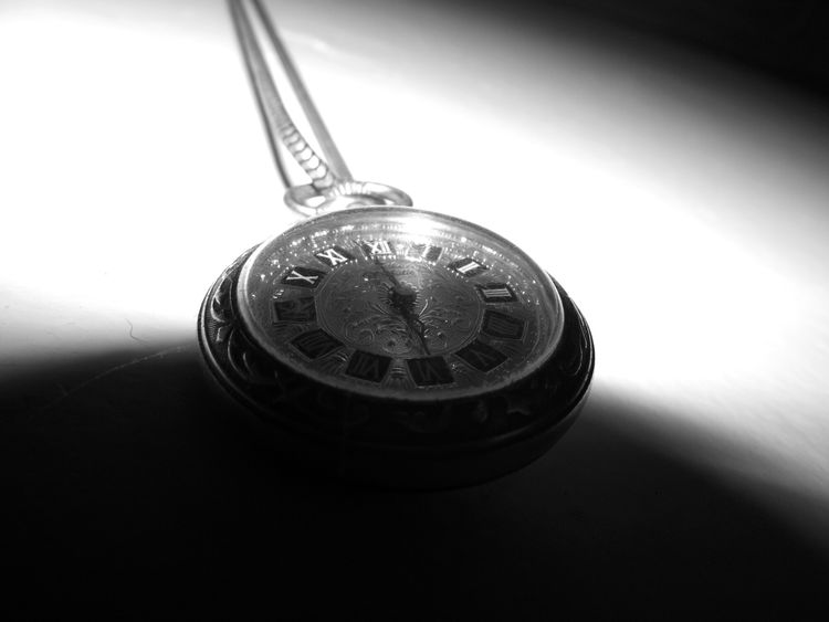 No People Old Clock Black & White Indoors  Hanging Time Close-up Ticking Nostalgy EyeEmNewHere