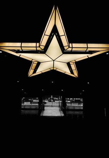AT&T Stadium American Football American Team Dallas Cowboys Miller Lite Club Blackandwhite