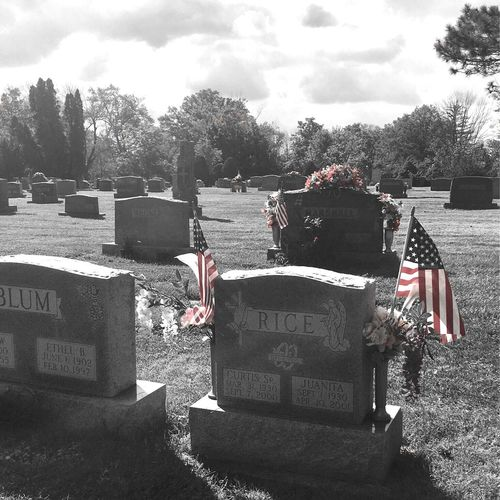 Ohio, USA Outdoors Cemetery Tombstone Graveyard Beauty Decoration No People Color Filter Red Ohio Outside Embrace Urban Life