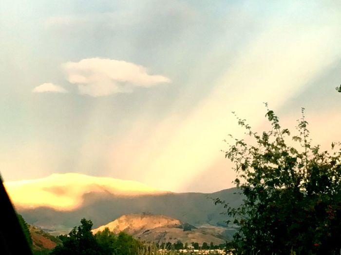 Mountains Shining Light