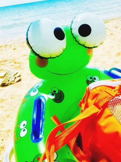 Frog beach fun Strandspielzeug