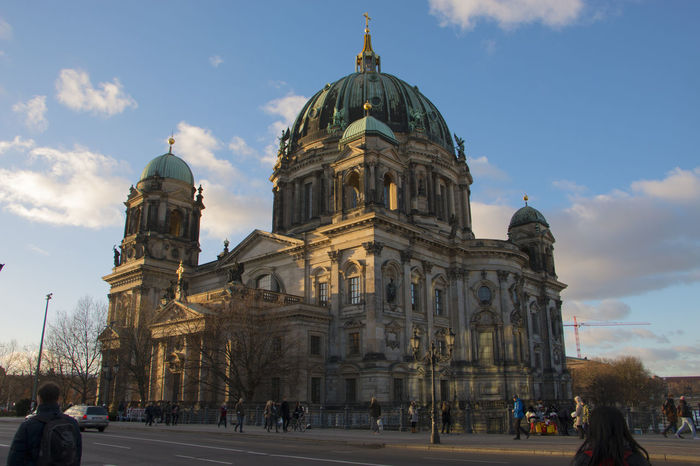 Berlin Berlin Cathedral Berlin Mitte Berlin Photography Cathedral GERMANY🇩🇪DEUTSCHERLAND@ Mitte Museum Island Winter Architecture Building Exterior Built Structure Cloud - Sky Day Dome Germany History Lustgarten Outdoors Place Of Worship Religion Sky Sunset Tourism Travel Destinations