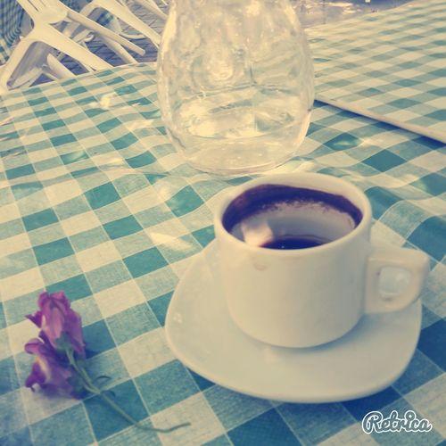 Hi! Freinds Relaxing it's Coffee Time Coffee Break at Kampos Cyprus