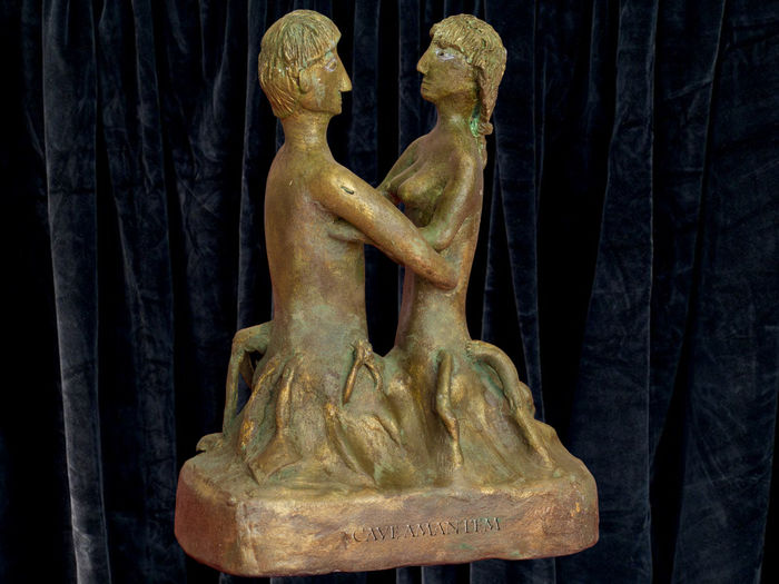 Bronze Patina Close-up Day Human Representation Indoors  Man And Woman No People Personal Realization Sculpture Statue