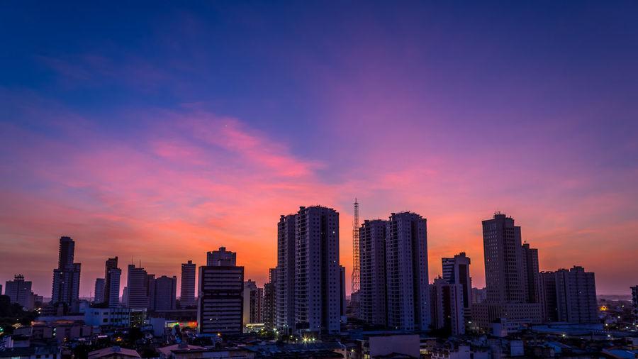 Belém Sunrise Skyline Brazil Sky Blue Beutiful  HDR EyeEmNewHere