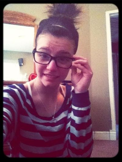 New glasses, getting ready for the day, good afternoon everyone(: