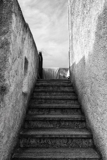 Stairs in the beach house | 15.09.16 Monochrome Photography Stairs Steps And Staircases Staircase Sicily Sycylia Italy Włochy Costa Saracena Architecture Blackandwhite Czarno-białe ShotoniPhone5s IPhoneography Iphoneonly Iphonesia Snapseed