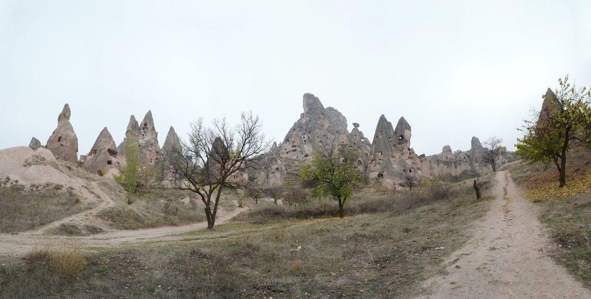 Turkey Cappadocia Travel Panorama
