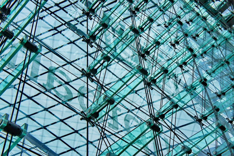 Glass Structure Architecture Backgrounds Berlin Built Structure Central Station Complexity Day Europe Full Frame Germany Glass Holidays Low Angle View Nature No People Outdoors Pattern Sightseeing Sky Structure Traveling