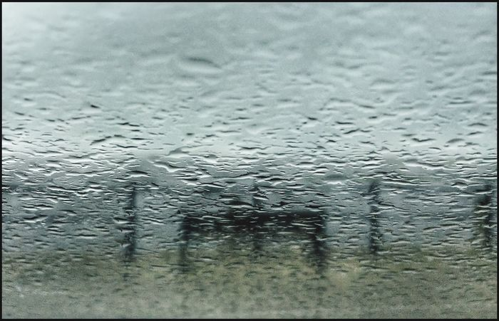 Bench Through The Rain Rain Backgrounds Wet Window Full Frame Weather Drop Glass - Material Water No People Close-up Car RainDrop Indoors  Day Pattern Nature Sky Eyeemphotography The Week On EyeEm Eye4photography  EyeEm Best Shots Rainy Days