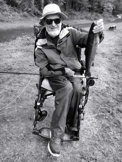 Fishing elderly